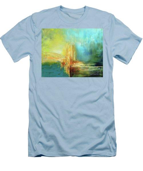 Land Of Oz Men's T-Shirt (Slim Fit) by Tatiana Iliina