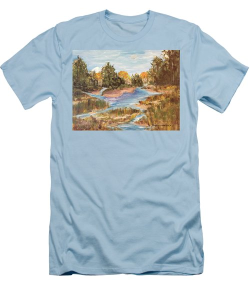 Landscape_1 Men's T-Shirt (Athletic Fit)
