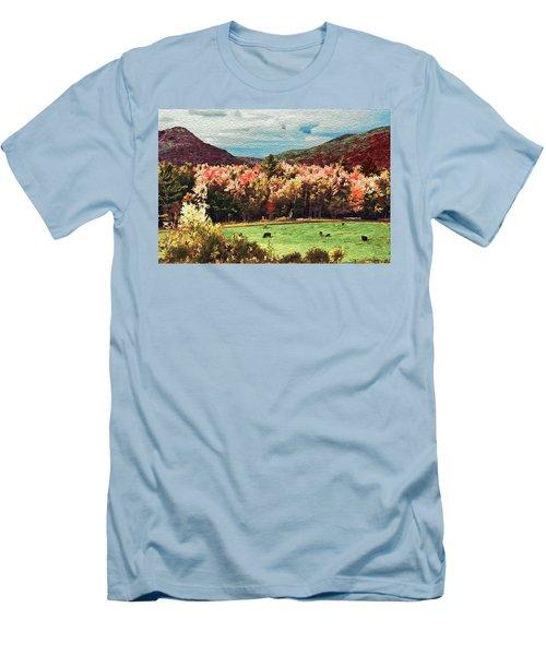 Men's T-Shirt (Slim Fit) featuring the digital art Last Call  by John Selmer Sr