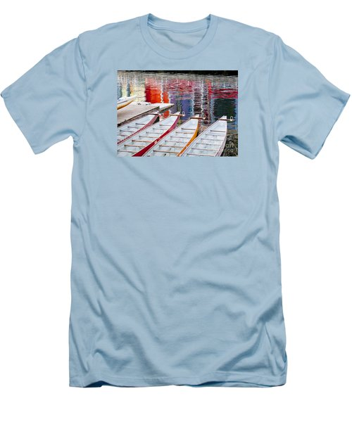 Last Of The Dragon Boats Men's T-Shirt (Slim Fit) by Chris Dutton