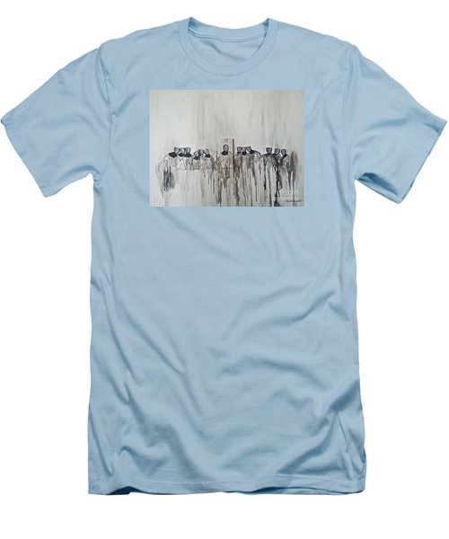 Last Supper Men's T-Shirt (Slim Fit) by Fei A