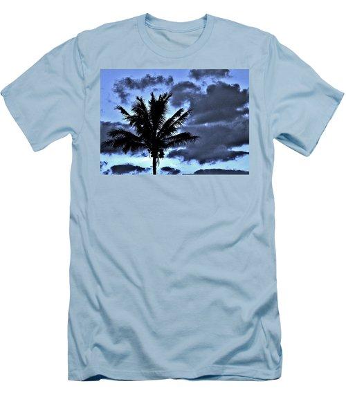 Late Day Palm Men's T-Shirt (Slim Fit) by John Wartman