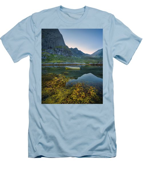 Late Summer Men's T-Shirt (Slim Fit) by Maciej Markiewicz