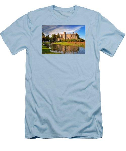 Laugharne Castle 1 Men's T-Shirt (Athletic Fit)