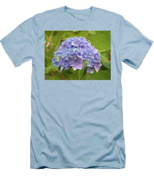 Lavender Hydrangea Men's T-Shirt (Athletic Fit)