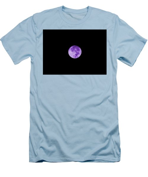 Lavender Moon Men's T-Shirt (Athletic Fit)