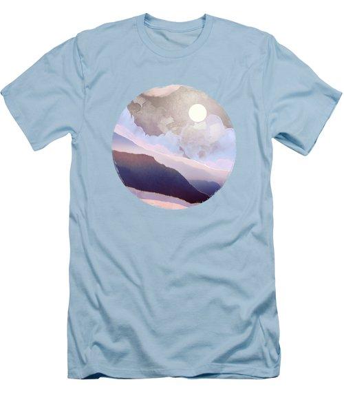 Lavender Night Men's T-Shirt (Athletic Fit)