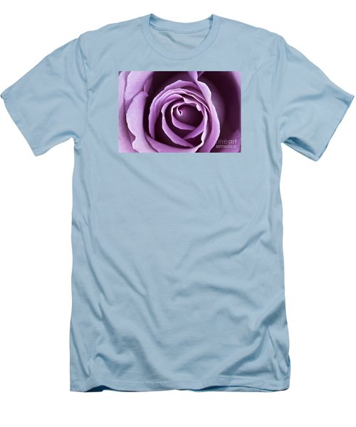 Lavender Rose Men's T-Shirt (Athletic Fit)
