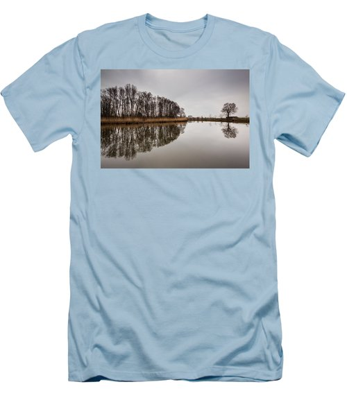 Men's T-Shirt (Slim Fit) featuring the photograph Leader by Davorin Mance