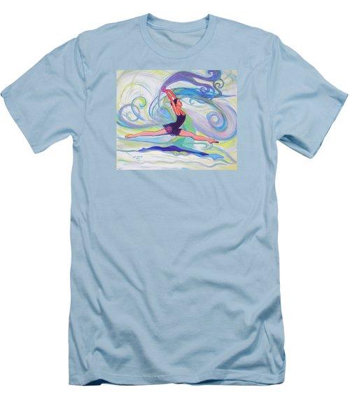 Leap Of Joy Men's T-Shirt (Slim Fit) by Jeanette Jarmon