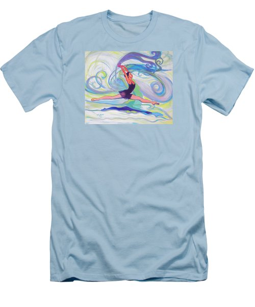 Leap Of Joy Men's T-Shirt (Athletic Fit)