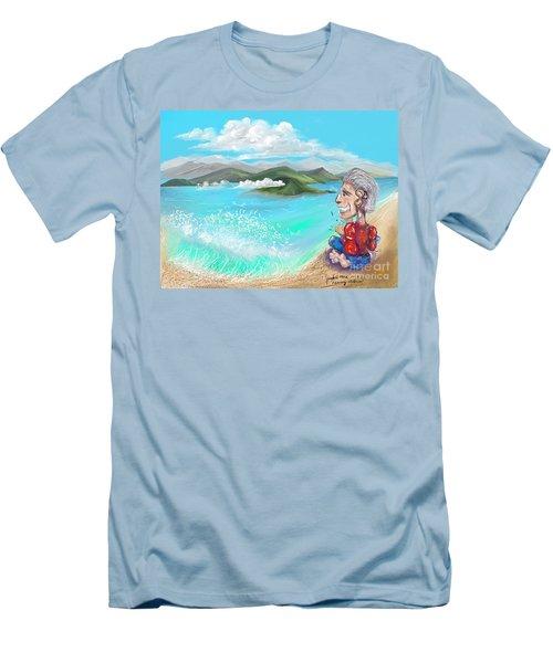 Leaving The Dream Men's T-Shirt (Athletic Fit)