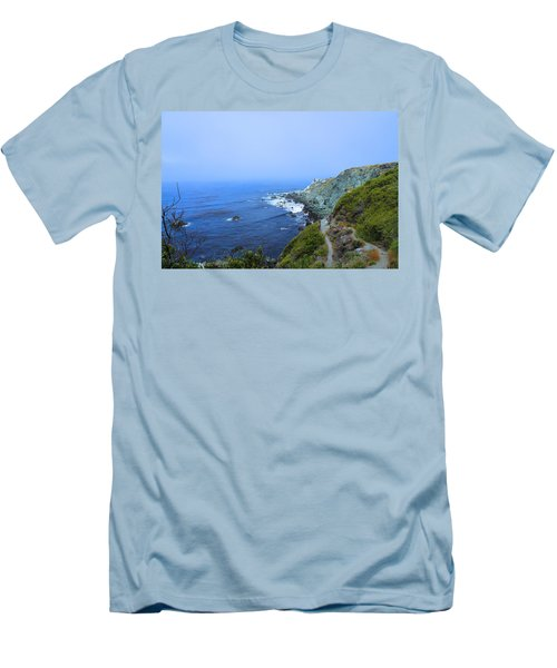Left Coast Men's T-Shirt (Athletic Fit)