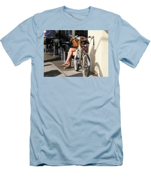 Leg Power - On Montana Avenue Men's T-Shirt (Athletic Fit)