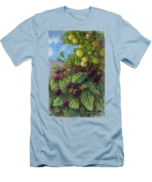 Lemons And Berries Men's T-Shirt (Athletic Fit)