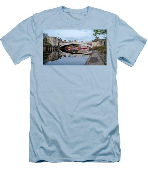 Lendal Bridge Reflection  Men's T-Shirt (Athletic Fit)
