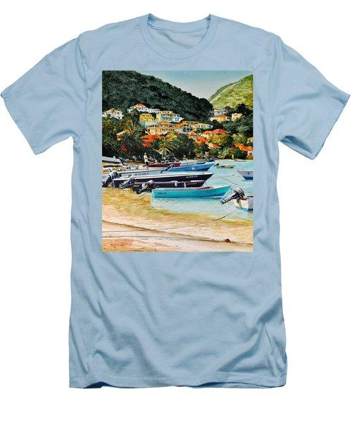 Les Saintes, French West Indies Men's T-Shirt (Athletic Fit)