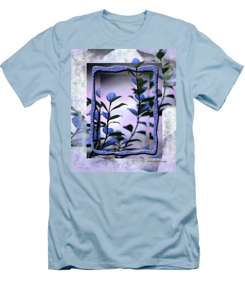 Men's T-Shirt (Slim Fit) featuring the digital art Let Free The Pain by Vicki Ferrari