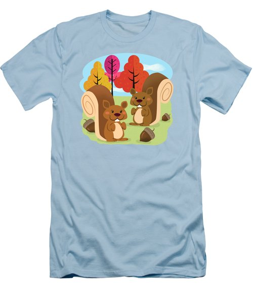 Let The Acorns Fall Men's T-Shirt (Athletic Fit)
