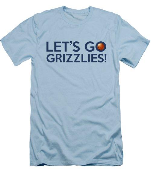 Let's Go Grizzlies Men's T-Shirt (Athletic Fit)