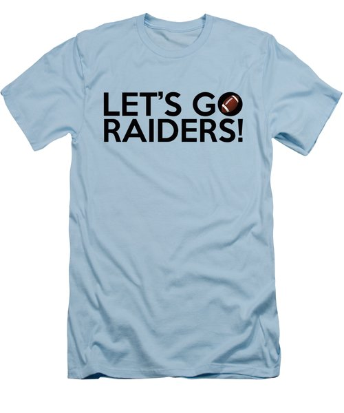 Let's Go Raiders Men's T-Shirt (Athletic Fit)