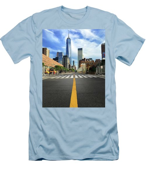 Life Is A Highway Men's T-Shirt (Athletic Fit)