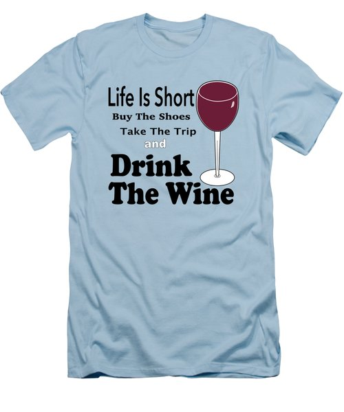 Life Is Short Men's T-Shirt (Athletic Fit)