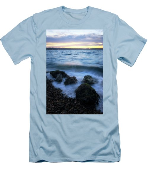 Life On The Rocks Men's T-Shirt (Athletic Fit)