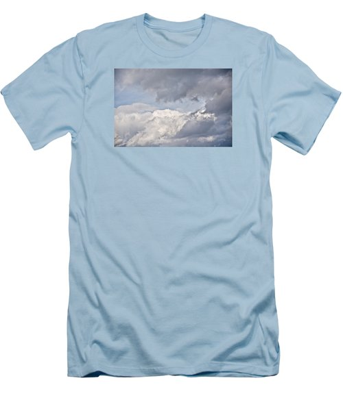 Men's T-Shirt (Slim Fit) featuring the photograph Light And Heavy by Wanda Krack