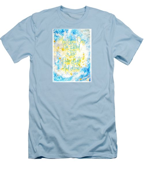 Light And Love Men's T-Shirt (Athletic Fit)