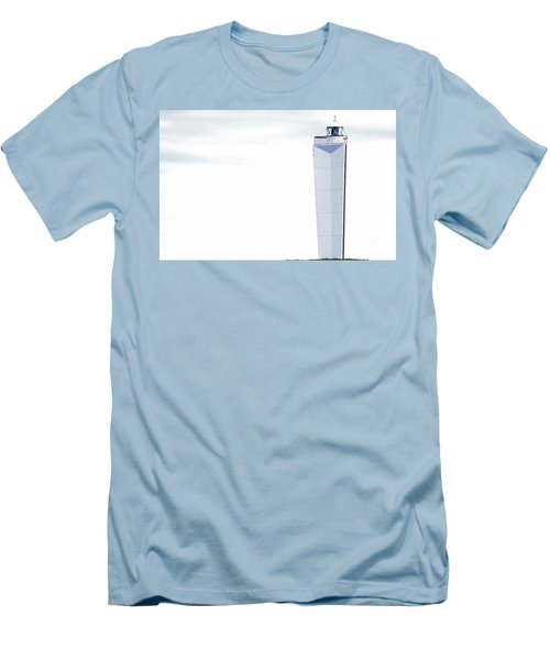 Men's T-Shirt (Athletic Fit) featuring the photograph Lighthouse At Cape Jervis by Stephen Mitchell