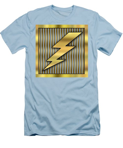 Lightning Bolt Men's T-Shirt (Slim Fit)