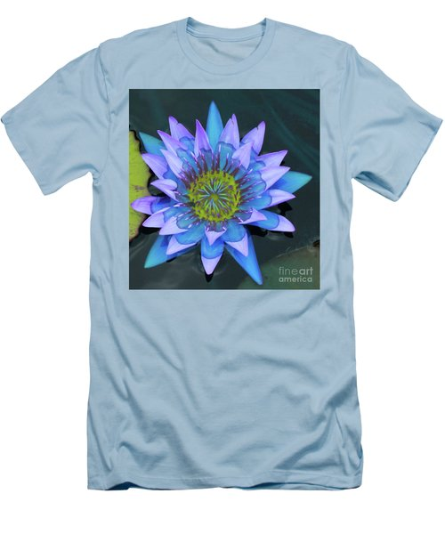 Lilly Watered Down Men's T-Shirt (Athletic Fit)
