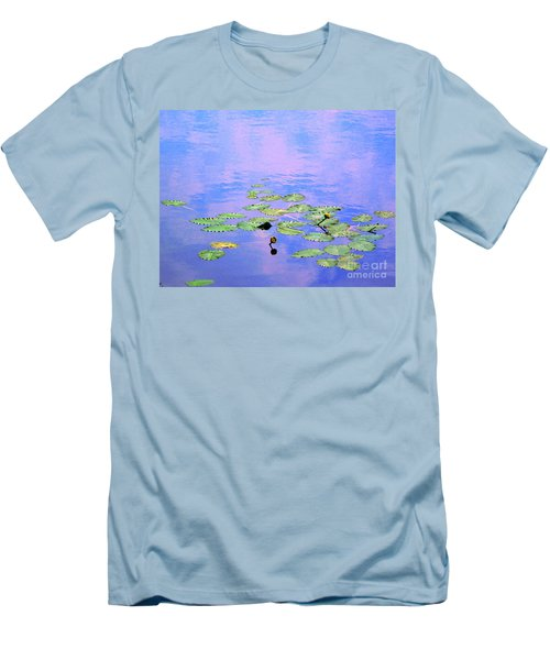 Laying Low Like A Lily Pond  Men's T-Shirt (Athletic Fit)