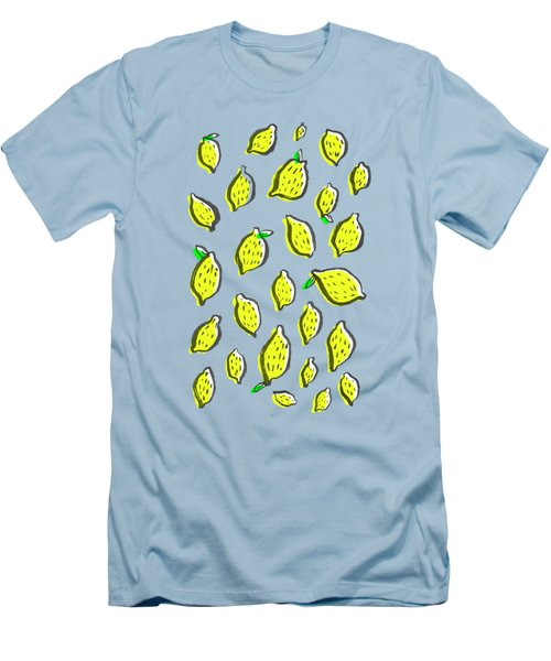 Limones De Primavera Men's T-Shirt (Slim Fit) by Studio Sananikone