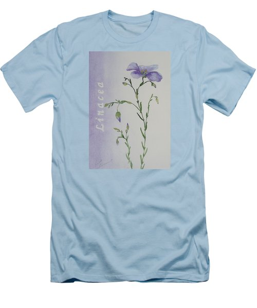 Linacea Men's T-Shirt (Slim Fit) by Ruth Kamenev