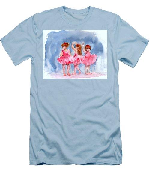 Little Ballerinas Men's T-Shirt (Athletic Fit)