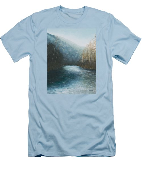 Little Buffalo River Men's T-Shirt (Athletic Fit)