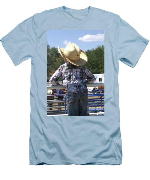 Little Cowboy Men's T-Shirt (Athletic Fit)