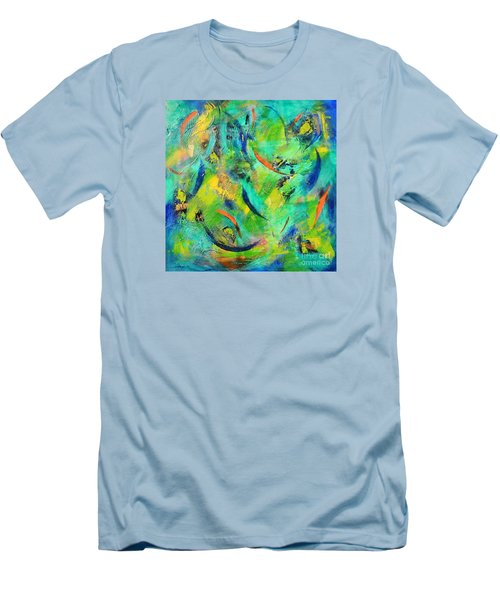 Little Fishes Men's T-Shirt (Athletic Fit)
