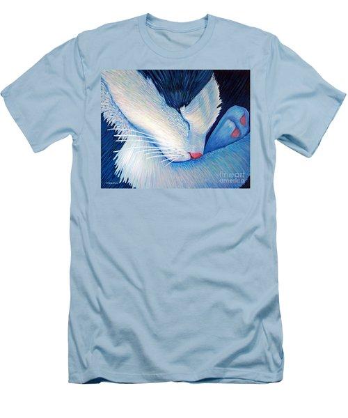 Living The Dream Men's T-Shirt (Athletic Fit)