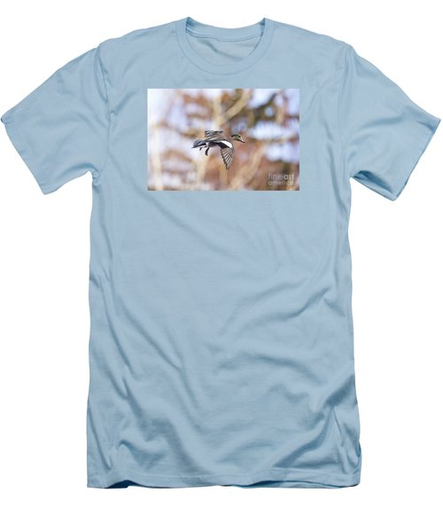 Locked Widgeon Men's T-Shirt (Athletic Fit)