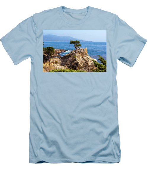 Lone Cypress Men's T-Shirt (Slim Fit) by Lou Ford