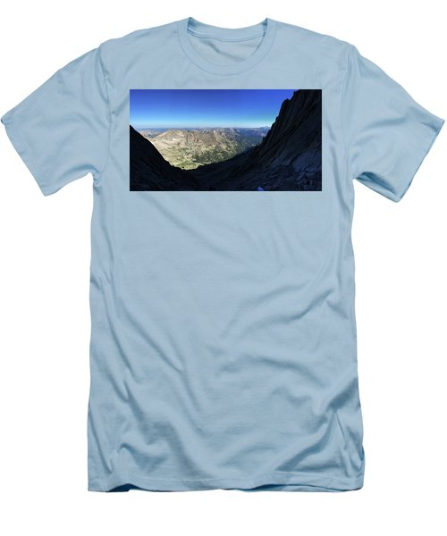 Longs Peak Trough Men's T-Shirt (Athletic Fit)