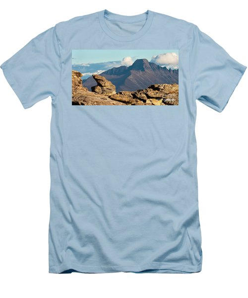 Long's Peak View Men's T-Shirt (Athletic Fit)