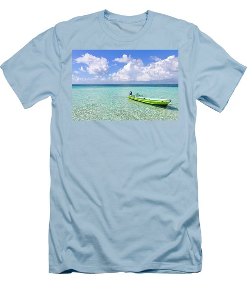 Look At This Beautiful Blue Water Men's T-Shirt (Athletic Fit)