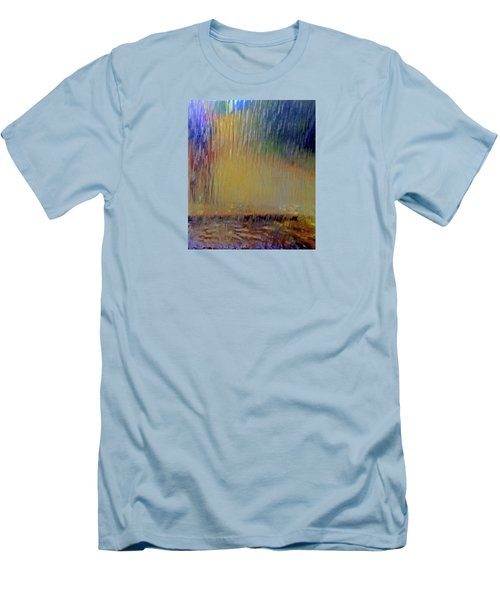Men's T-Shirt (Athletic Fit) featuring the photograph Looks Like Rain by Nareeta Martin
