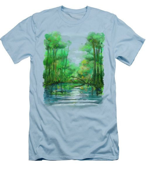 Lost In Colors  Men's T-Shirt (Slim Fit) by Ivana Westin