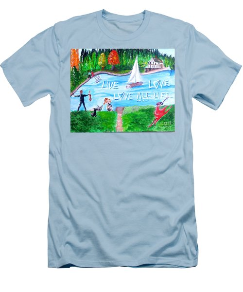Love All Life Men's T-Shirt (Athletic Fit)