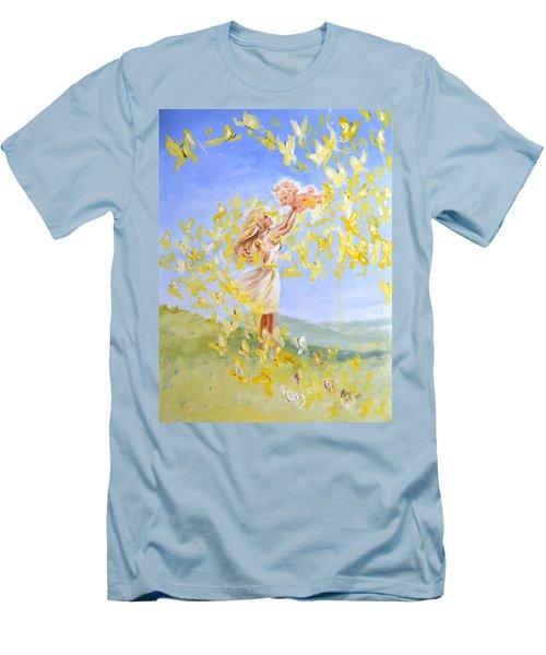 Love's Flight Men's T-Shirt (Athletic Fit)